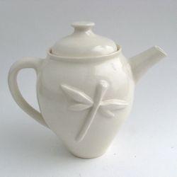 Dragonfly Teapot by Melanie Mena