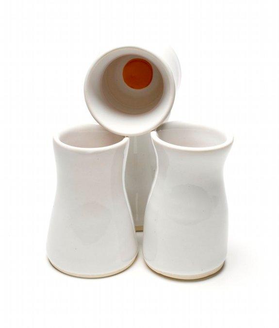 Dots! Mini Vases made by Melanie Mena, photo by Tanya King